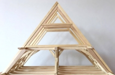 Experimentelle Bauforschung / Holzdachwerke